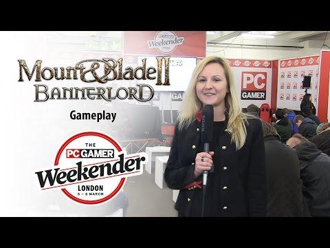 40 minutos de jugabilidad de Mount & Blade II: Bannerlord desde la PC Games Weekender