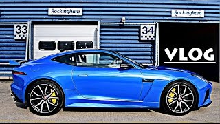 FIRST DRIVE IN JAGUAR F-TYPE SVR!! by Supercars of London