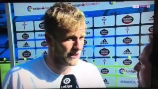 Yoel falando en galego para BeIN La Liga