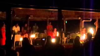Lalomanu Samoa  City pictures : Fiafia night at Taufua beach fales Lalomanu, Samoa