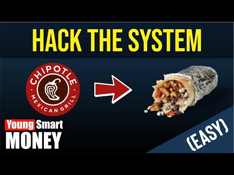 HOW TO GET FREE CHIPOTLE [2018]