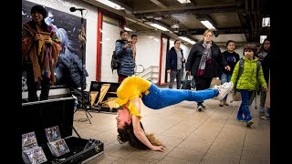 Video SOFIE DOSSI BREAKS THE 10 MINUTE PHOTO CHALLENGE RECORD IN NYC SUBWAY MP3, 3GP, MP4, WEBM, AVI, FLV Maret 2018
