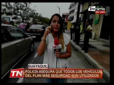 Policía asegura que todos los vehículos de plan más seguridad son utilizados