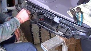 This is 95 Jeep Grand Cherokee Lerado.  In this DIY video I show how to repair the hinges, wiring harness and door latch on a Jeep I just bought.  Check out my other videos for more random vids !!SUBSCRIBE, LIKE & SHARE !!!!
