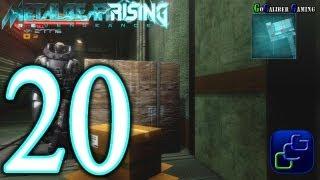 Metal Gear Rising: Revengeance Walkthrough - Part 20 - Chapter File R-04: Hostile Takeover