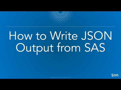 how to create json file