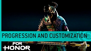 Видео к игре For Honor из публикации: Прокачка и кастомизация в For Honor