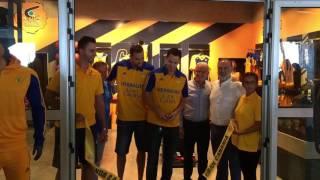 Inauguración de la nueva tienda oficial del CB Gran Canaria