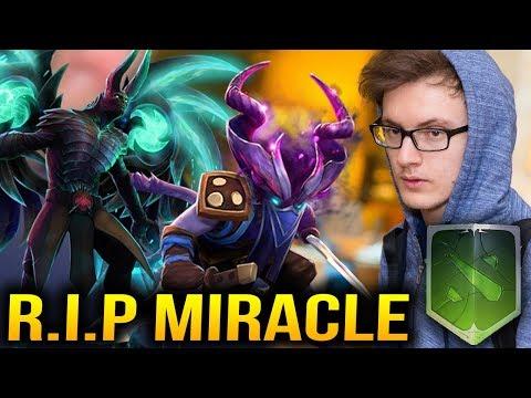 MIRACLE AXE vs RIKI Edict Of Shadows & TERRORBLADE Span of Sorrow IMMORTAL Dota 2 (видео)
