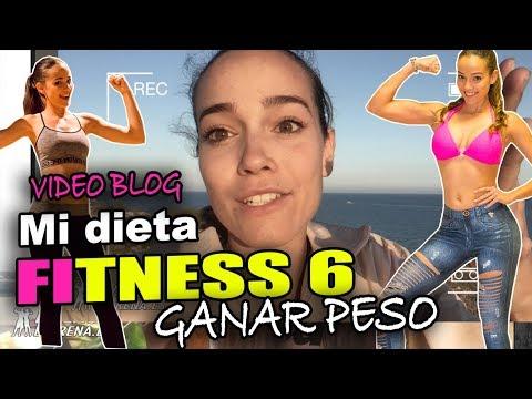 Dietas para adelgazar - Mi DIETA para GANAR PESO  Vlog #6 PATRI FIT MODEL