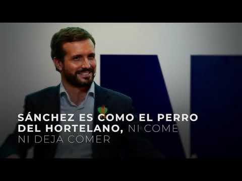 Sánchez es como el perro del Hortelano, ni come ni deja comer
