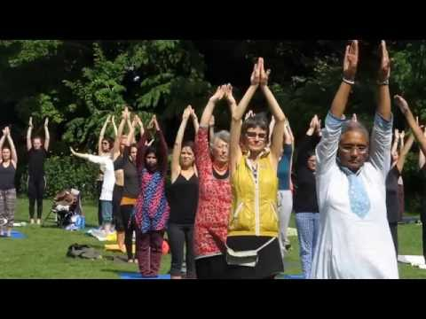 SECOND INTERNATIONAL YOGA DAY IN VIENNA IN AUSTRIA-2016