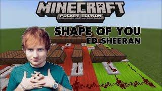 ♪ Shape Of You ♪ [Ed Sheeran] - Lagu Dari Noteblock #1 (MCPE INDONESIA)