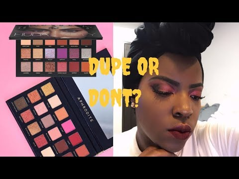 OMG! $10 HUDA BEAUTY PALETTE DUPE?! | Bad Habit Aphrodite Palette Swatches, Demo, Review