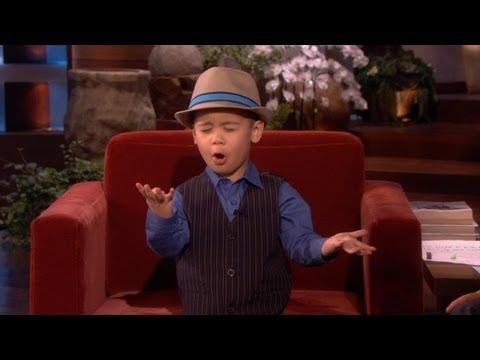This kid is so cute!