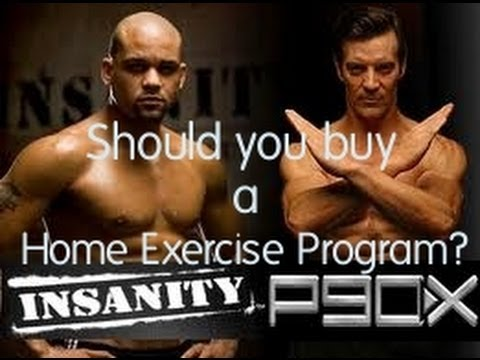 Home Exercise Program : P90X Workout, Insanity, TapOut