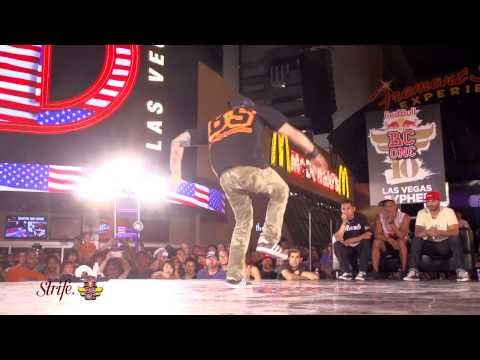 MAYNARD - Red Bull BC One Cypher Las Vegas 2013 Final Round: Lil Rock vs Maynard Held @ Fremont Street Experience in downtown Las Vegas 05/18/2013 Filmed by: Daniel & ...