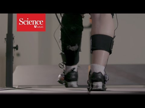 [VIDEO] Watch a robotic exoskeleton help a stroke patient walk – YouTube