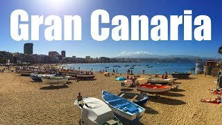 """Exploring the lovely island of Gran Canaria, Canary Islands, Spain. PLANNING A BUDGET TRAVELING TRIP?? """"Gabe's Guide to..."""
