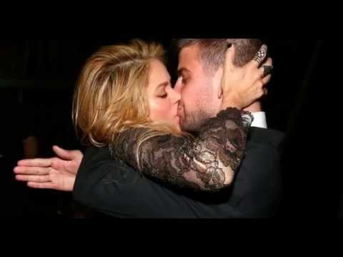 Hot Kissing Scenes | Shakira Kissing Gerard Pique