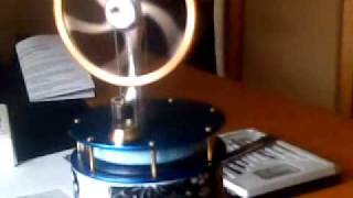 A Stirling Engine Powered By A Cup Of Tea....