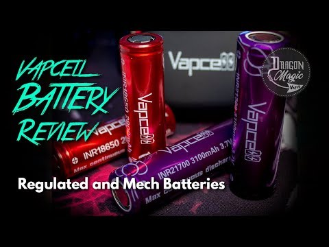 Vapcell Vape Review - 18650 and 21700 Batteries
