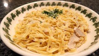 Today I'm cooking Fettuccine Alfredo with Chicken!Written recipe: http://orsararecipes.net/fettuccine-alfredo-with-chicken-recipeSupport me on Patreon: https://www.patreon.com/orsararecipes