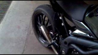 4. HP Hydroform Speed triple exaust - NO DB killer -