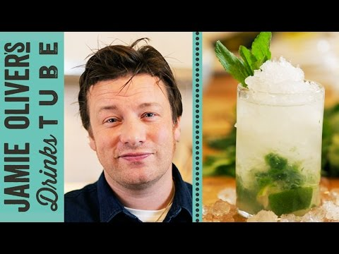 drinks - The Mojito is one of the world's most popular cocktails, and no wonder - it's delicious! Here Jamie Oliver shows you how to make his version of this Cuban classic using Bacardi white rum, fresh...