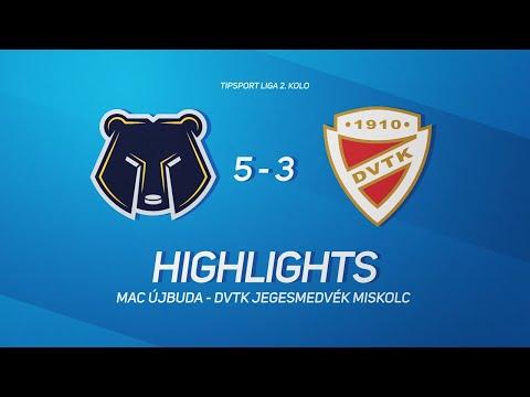 2.forduló: MAC Újbuda - DVTK Jegesmedvék 5-3