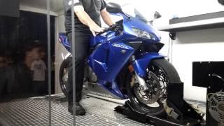 9. 04 Honda CBR 600RR Dyno Pull