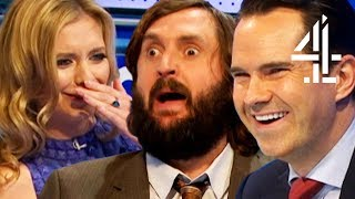 """Video """"LOWER THE P***ING WINCH!"""" Joe Wilkinson's Best Bits on 8 Out of 10 Cats Does Countdown 