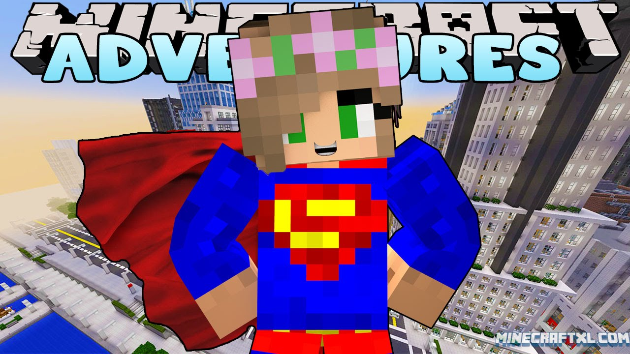 Minecraft – Little Kelly Adventures : BECOMING SUPERGIRL!