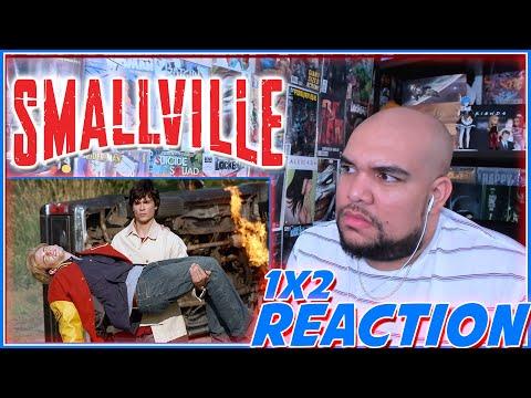 WHATS BUGGIN HIM? | Smallville 1x2 Reaction | Season 1 Episode 2