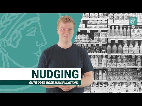 Nudging = Manipulation? | Mit psychologischen Tricks zu gewünschtem Verhalten