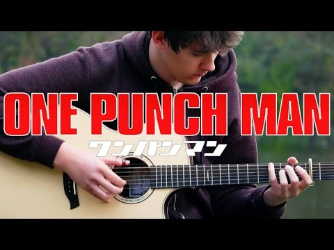 Explosive Fingerstyle Guitar Cover Of 'One Punch Man'