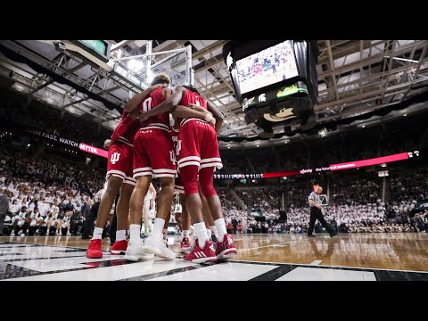 IUBB - IU at Michigan State (02/02/19) | Don Fischer Radio Call