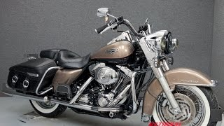 5. 2004  HARLEY DAVIDSON  FLHRCI ROAD KING CLASSIC  - National Powersports Distributors
