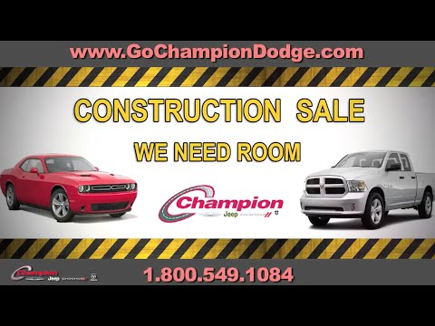 CHAMPION DODGE - Serving Downey & Cerritos CA - JEEP & RAM INVENTORY REDUCTION SALE
