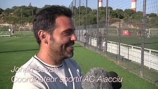 Retour sur la reprise de l'entrainement de l'AC Ajaccio