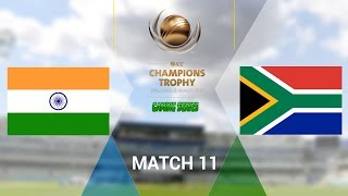 """ICC CHAMPIONS TROPHY 2017 GAMING SERIES - INDIA v SOUTH AFRICA - GROUP B MATCH 11 (DON BRADMAN CRICKET 17, FULL 1080P HD, 30FPS, XBOX ONE S)Check out the Champions Trophy 2013 Gaming Series playlisthttps://www.youtube.com/playlist?list=PLdKwevnrzNGy2Jax2seo6LK0hiYjwt1PKICC Champions Trophy 2017 FixturesMatch 1 - England v BangladeshMatch 2 - Australia v New ZealandMatch 3 - South Africa v Sri LankaMatch 4 - India v PakistanMatch 5 - Australia v BangladeshMatch 6 - England v New ZealandMatch 7 - Pakistan v South AfricaMatch 8 - Sri Lanka v IndiaMatch 9 - New Zealand v BangladeshMatch 10 - England v AustraliaMatch 11 - India v South AfricaMatch 12 - Sri Lanka v Pakistan Semi Final GA1 v GB2Semi Final GB1 v GA2Final TBD v TBD*Warning: The following is a gameplay from the video game """"Don Bradman Cricket 17"""" for the ps4, Xbox one s and pc. It is by no means actual highlights of the ongoing event """"""""ICC Champions Trophy 2017""""  My gaming setuphttps://www.elgato.com/en/gaming/game-capture-hd60http://store.steampowered.com/app/464850/Don_Bradman_Cricket_17/http://www.vegascreativesoftware.com/ca/vegas-pro/Like me on Facebookhttps://www.facebook.com/PGEHamzah/?ref=bookmarksBe sure to message me any important questions onto there.Comment who you think will win the ICC Champions Trophy 2017 Gaming Series.Be sure to subscribe to join the PGE Army!"""