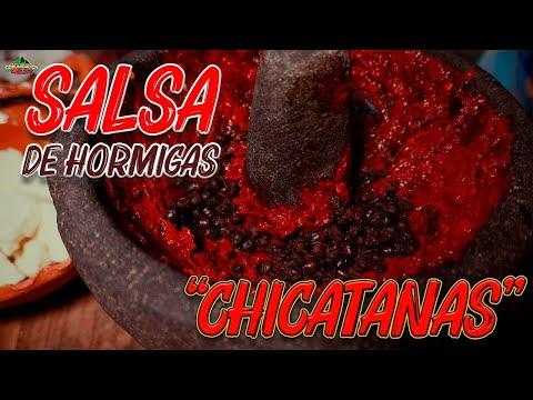 Salsa de Hormigas Chicatanas