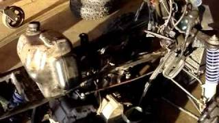 4. Working on a Polaris 400L Sport ATV