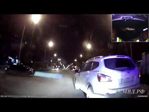 Задержан водитель пытавшийся скрыться от полицейских - DomaVideo.Ru