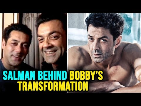 Salman Khan Helped Bobby Deol In Getting Physique,