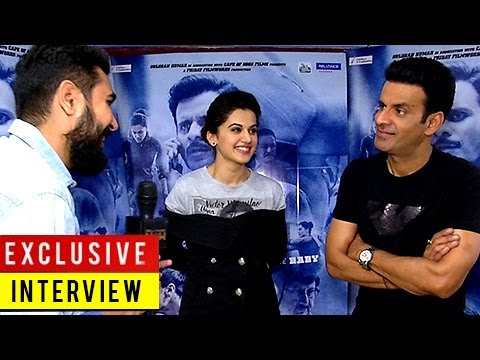 TAAPSEE PANNU And MANOJ BAJPAYEE Talk About AKSHAY