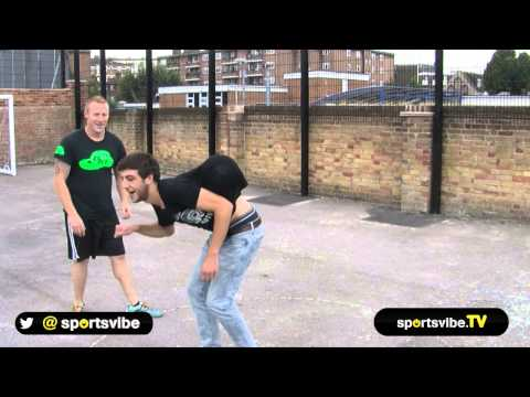 Football Freestyle Battle: Dan Magness vs Sportsvibe