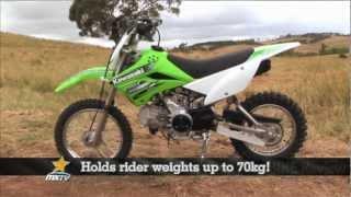 9. MXTV Mini Dirt Bikes Review - Kawasaki KLX110