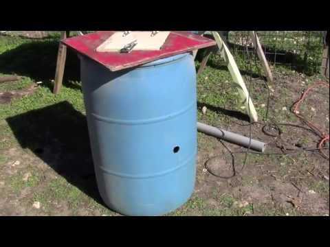Garden Compost Tumbler – Recycled Materials