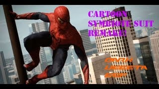 [REMAKE]The Amazing Spiderman Cartoon Black Suit Mod!